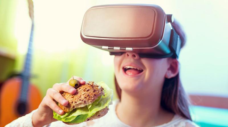 La realidad virtual puede alterar el sabor de los alimentos